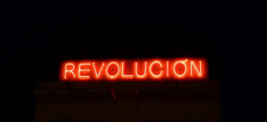 A neon revolution, Santiago de Cuba
